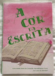 "4.º Livro ""A Cor da Escrita"" (ano letivo 2016-2017)"